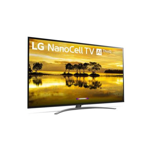 LG NanoCell 90 Series 4K 86 inch Class Smart UHD NanoCell TV w/ AI ThinQ® (85.6'' Diag)