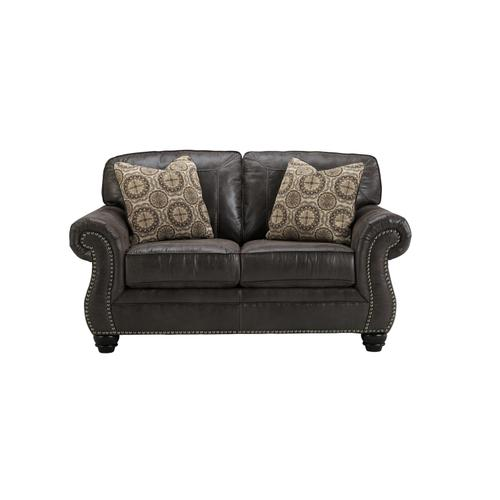 Benchcraft - Breville Loveseat Charcoal