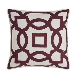 See Details - Nora Pillow Cover Wine