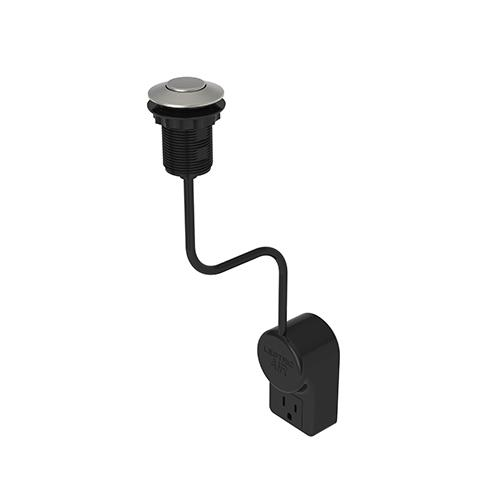Satin Nickel - PVD Air Activated Disposer Switch
