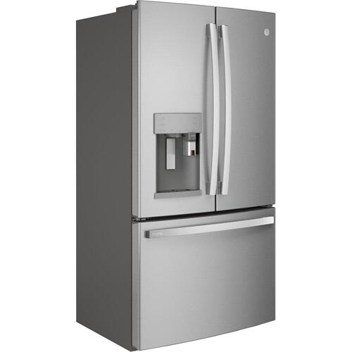 GE Profile™ Series ENERGY STAR® 27.7 Cu. Ft. Smart Fingerprint Resistant French-Door Refrigerator with Keurig® K-Cup® Brewing System
