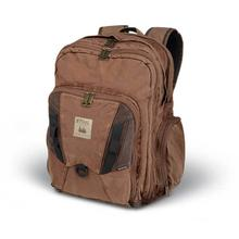 "The ""go anywhere"" backpack."