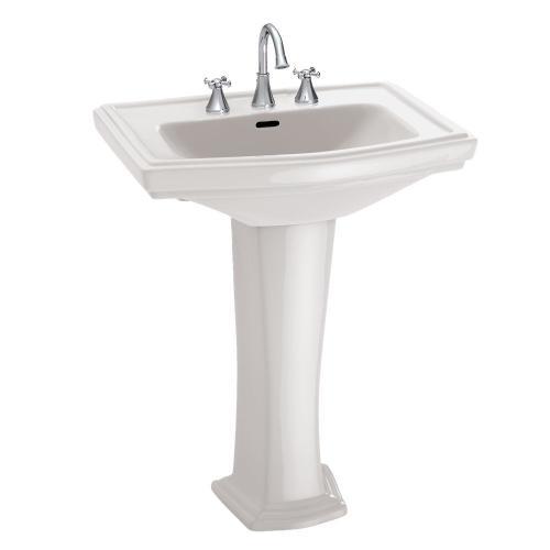 Clayton® Pedestal Lavatory - Colonial White