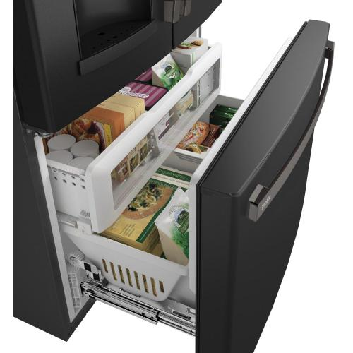 Gallery - GE Profile™ Series ENERGY STAR® 22.1 Cu. Ft. Counter-Depth French-Door Refrigerator with Hands-Free AutoFill