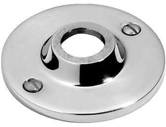 "Satin Nickel Visible fix rose, 2 3/4"" diameter"