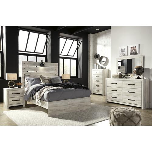 Cambeck - Whitewash 2 Piece Bedroom Set