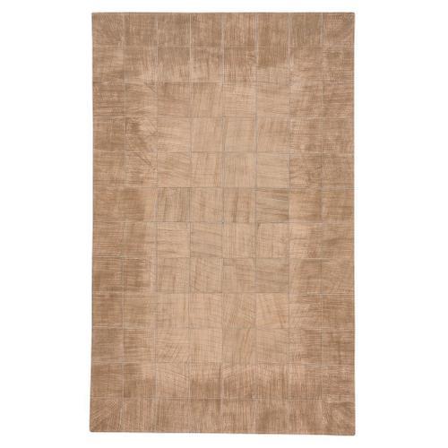 Capel Rugs - Laramie-Brushed Blocks Copper - Rectangle - 5' x 8'