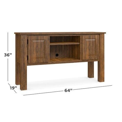 "Homestead Maple 64"" Credenza Tall"