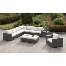 Somani L-Sectional + Chair + Ottoman
