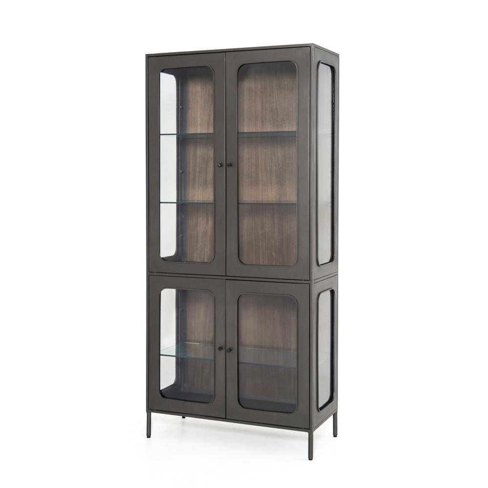 See Details - Franz Cabinet-grey Natural