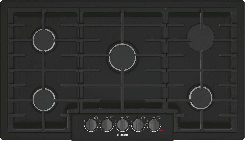 Bosch800 Series Gas Cooktop 36'' Black Ngm8646uc