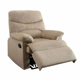ACME Arcadia Recliner - 00702 - Beige Fabric