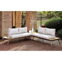 Evita Patio Sectional w/ Corner Table