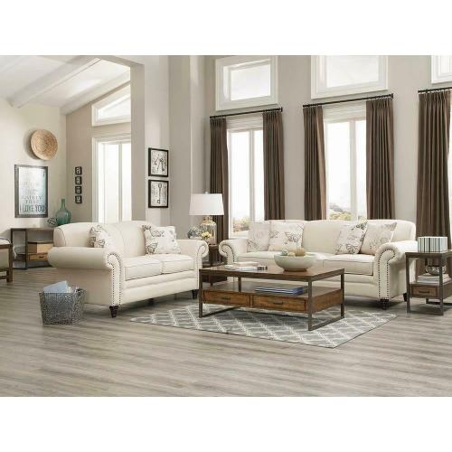 See Details - Norah Traditional Oatmeal Sofa