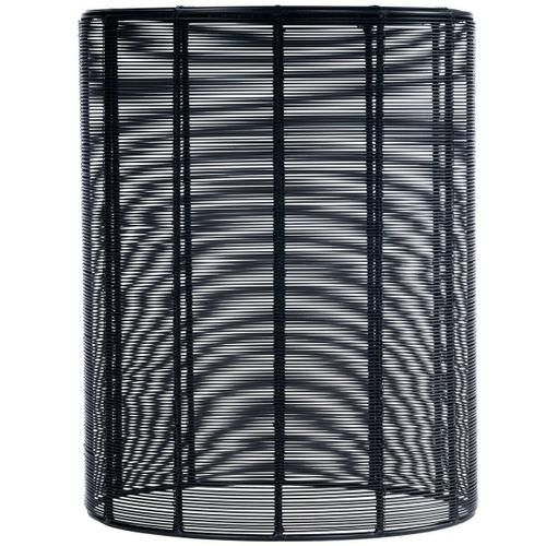 Butler Specialty Company - The open weave of Renwick Iron Cage Bunching Table brings a new sense of dimension to your room. Its compact, round shape wrapped in black iron wire adds a modern twist to this convenient storage spot.