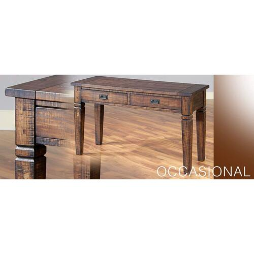 Sunny Designs - Homestead Sofa Table w/ 2 Drawers