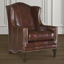 Fleming Leather Accent Chair