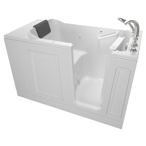 Acrylic Luxury Series 30x51 Walk-in Tub with Whirlpool System Right Drain  American Standard - White