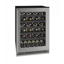 "Hwc124 24"" Wine Refrigerator With Stainless Frame Finish (115v/60 Hz Volts /60 Hz Hz)"