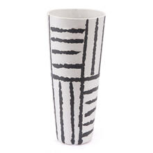 Small Croma Vase Black & White