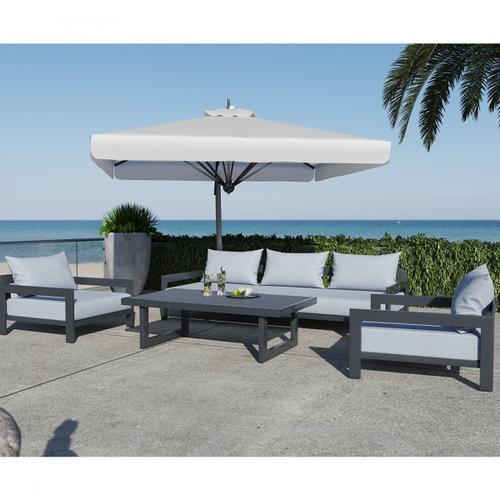 VIG Furniture - Renava Wake - Modern Charcoal Outdoor Sofa