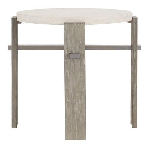 Foundations Side Table in Linen (306), Light Shale (306)