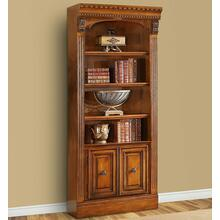 See Details - HUNTINGTON 32 in. Open Top Bookcase