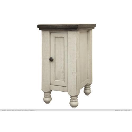 International Furniture Direct - 1 Door Chairside Table