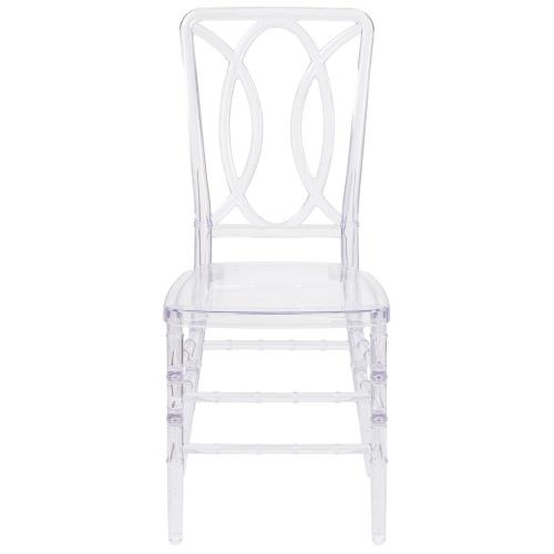 Crystal Ice Stacking Chair