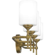 See Details - Aria Bath Light in Weathered Brass