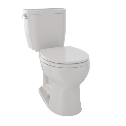 Product Image - Entrada™ Close Coupled Round Toilet 1.28GPF - Sedona Beige