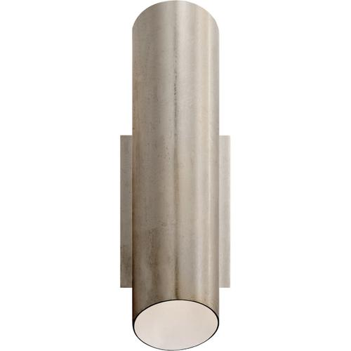 AERIN Tourain 1 Light 4 inch Burnished Silver Leaf Wall Sconce Wall Light