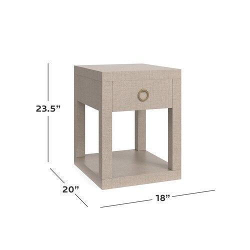 Bassett Furniture - Ventura Chairside Table