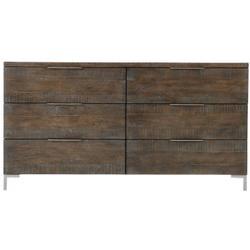 Haines Dresser in Sable Brown, Gray Mist