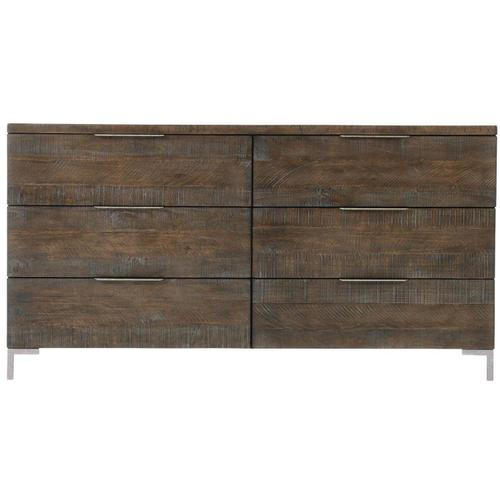 Haines Dresser in Sable Brown, Gray Mist