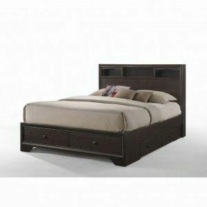 ACME Madison II Queen Bed w/Storage - 19560Q - Espresso