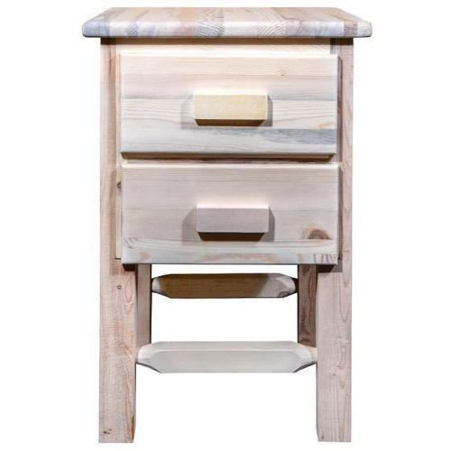 Homestead Collection Nightstand with 2 Drawers