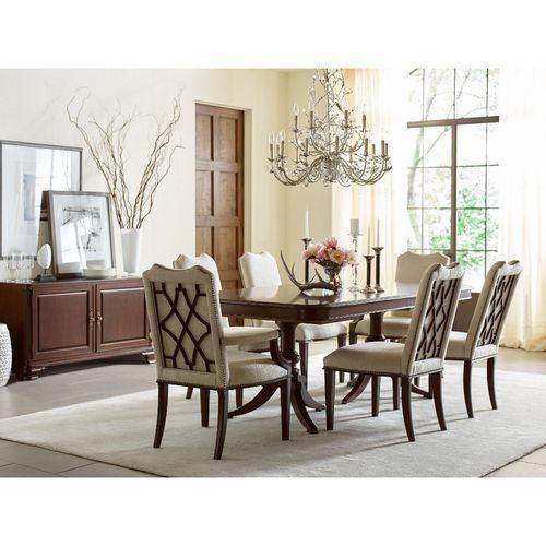 La-Z-Boy - Hadleigh Double Pedestal Dining Table