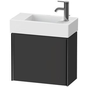Duravit - Vanity Unit Wall-mounted, Graphite Super Matte