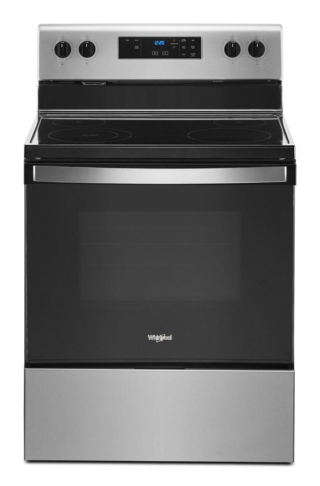 Whirlpool5.3 Cu. Ft. Electric Range With Keep Warm Setting.
