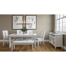 See Details - Urban Icon Ext Dining Table W/(4) Chairs, Bench