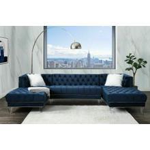 ACME Sectional Sofa w/2 Pillows - 57365