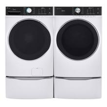 8.0 Cu. Ft. Capacity Front Load Electric Dryer White