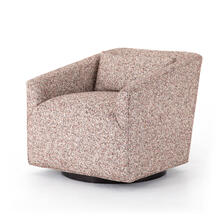 Wynwood Orchid Cover York Swivel Chair