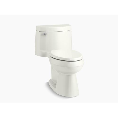 Kohler - Dune One-piece Elongated 1.28 Gpf Chair Height Toilet With Quiet-close(tm) Seat