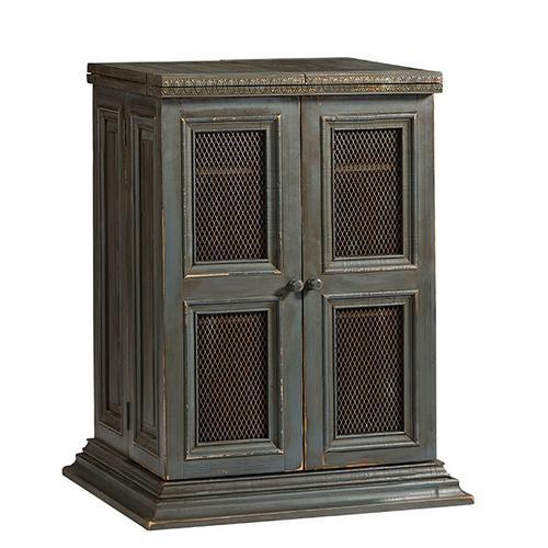 Progressive Furniture - Bar Cabinet - Slate Gray Finish