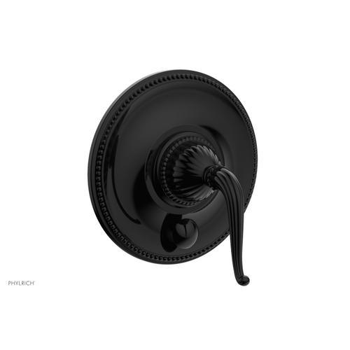 GEORGIAN & BARCELONA Pressure Balance Shower Plate with Diverter and Handle Trim Set PB2141TO - Gloss Black