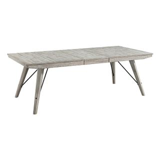 See Details - Modern Rustic Trestle Table