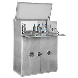 695-204 Metro Barkeep Wine & Bar Cabinet