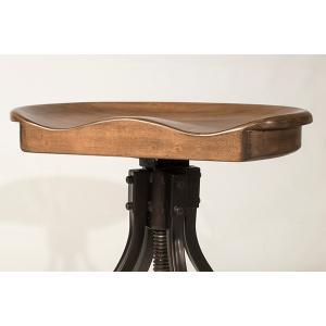 Worland Saddle Adjustable Stool